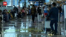 VIDEO: Lonjakan Penumpang Bandara Soetta Jelang Libur Panjang