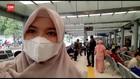 VIDEO: Vlog Peningkatan Penumpang di Stasiun Senen