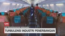 VIDEO: Turbulensi Industri Penerbangan