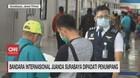 VIDEO: Bandara Internasional Juanda Dipadati Penumpang