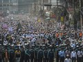 Puluhan Ribu Massa Protes Anti-Prancis di Bangladesh