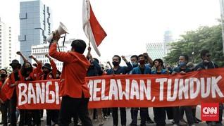 Mahasiswa Ditangkap Saat Bubar Aksi di Tengah Kepungan Polisi