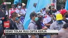 VIDEO: Buruh Kembali Demo Tolak Omnibus Law di Patung Kuda