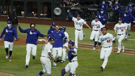 FOTO: Dodgers Juara World Series