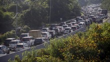 3 Hari Libur Panjang, 655 Ribu Kendaraan Keluar Jakarta