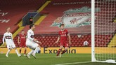 Liverpool meraih kemenangan 2-0 atas FC Midtjylland dalam lanjutan Liga Champions, Grup D.