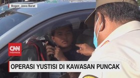 VIDEO: Operasi Yustisi di Kawasan Puncak Pelanggar Prokes