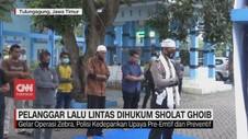 VIDEO: Pelanggar Lalu Lintas Dihukum Sholat Ghoib