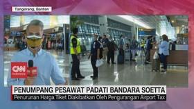 VIDEO: Penumpang Pesawat Padati Bandara Soetta