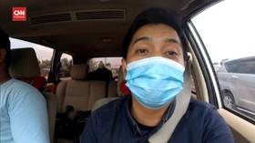 VIDEO: Vlog Kepadatan Lalu Lintas di Tol Cikampek