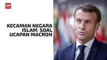 VIDEO: Kecaman Negara Islam atas Ucapan Presiden Prancis