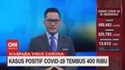 VIDEO: Naik 4.029, Kasus Positif Covid-19 Tembus 400 Ribu