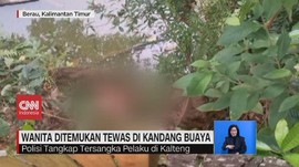 VIDEO: Wanita Ditemukan Tewas di Kandang Buaya