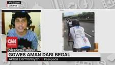 VIDEO: Gowes Aman Dari Begal