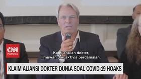 VIDEO: Klaim Aliansi Dokter Dunia Soal Covid-19 Hoaks