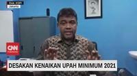 VIDEO: Desakan Kenaikan Upah Minimum 2021