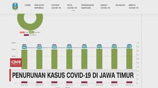 VIDEO: Penurunan Kasus Covid-19 di Jawa Timur
