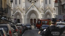 Pelaku Serangan di Gereja Prancis Tak Masuk Radar Intelijen