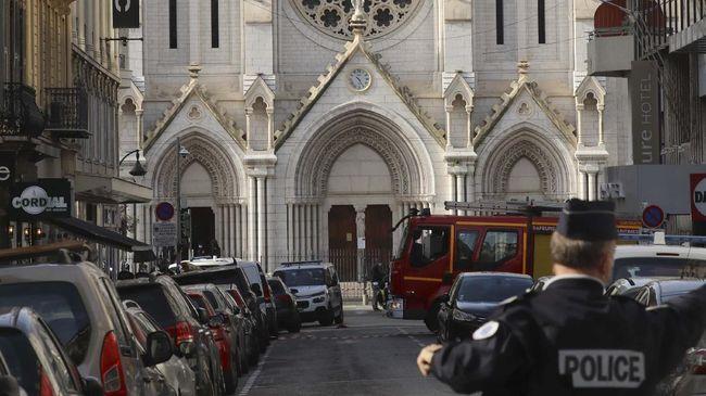 Jaksa anti-teror Prancis menyatakan bahwa pelaku penyerangan di sekitar Gereja Notre Dame Basilica, Nice, Prancis, tak masuk dalam radar badan intelijen.