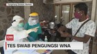 VIDEO: Test Swab Pengungsi WNA