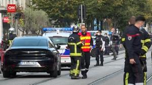 VIDEO: Suasana TKP Penusukan di Nice, Usai Pelaku Ditangkap