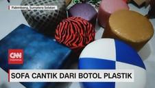 VIDEO: Sofa Cantik Dari Botol Plastik