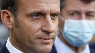 Presiden Prancis Macron: Erdogan Tunjukkan Sikap Berperang