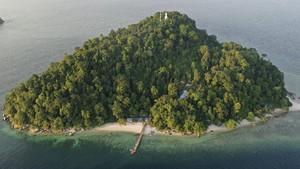 FOTO: Menjaga Berhala, Pulau Terluar NKRI di Selat Malaka