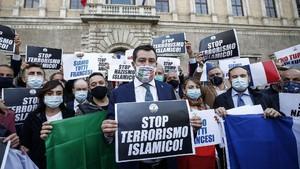 Abdullah Anzorov-Brahim Aouissaoui, Pembawa Teror di Prancis