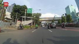 VIDEO: Ribuan Warga Jakarta Berlibur, Lalu Lintas Sepi