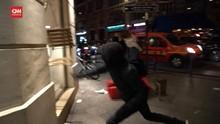 VIDEO: Demo Anti-Lockdown di Paris Berujung Rusuh