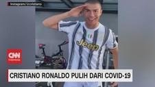VIDEO: Cristiano Ronaldo Pulih Dari Covid-19