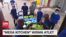 VIDEO: 'Mega Kitchen' Wisma Atlet
