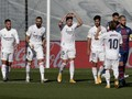 Hasil Liga Spanyol: Hazard Cetak Gol, Madrid Gulung Huesca