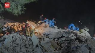 VIDEO: Gempa Magnitudo 7.0 Hantam Turki dan Yunani, 22 Tewas