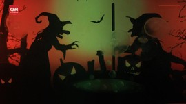 VIDEO: Warna-warni Halloween di Akuarium Ubur-ubur Jepang