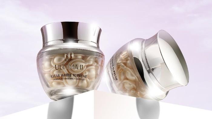 Kulit Cerah Bersinar dalam 1 Malam dengan ULTIMA II Clear White Supreme Overnight Radiance Capsule