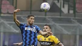 Hasil Liga Italia: Gol Menit Akhir, Inter Diimbangi Parma