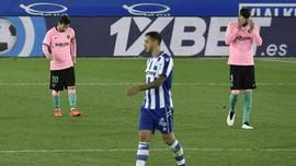 Pique Pilih Pensiun daripada Bersama Messi di Barcelona
