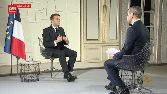 VIDEO: Macron Bela Diri Terkait Kecaman Dunia Islam