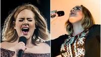 <p>Tak hanya tubuhnya yang jadi lebih langsing, wajah Adele juga nampak tirus. (Foto: Instagram @adele)</p>