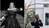 <p>Adele pun tampil semakin percaya diri, terlebih kini ia tengah mempersiapkan proses pembuatan album terbarunya. (Foto: Instagram @adele) </p>