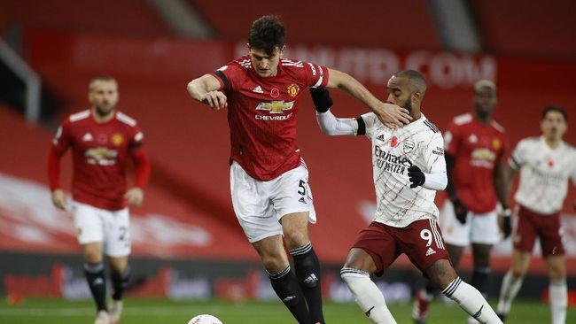 Man United Imbang Lawan Arsenal Di Babak Pertama