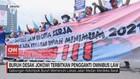 VIDEO: Buruh Desak Jokowi Terbitkan Pengganti Omnibus Law