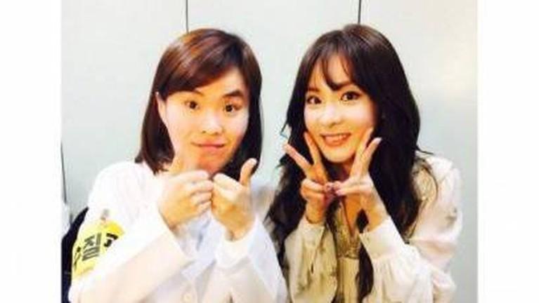 Komedian Park Ji Sun yang dekat dengan bintang K-Pop