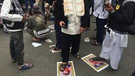 Polisi Bebaskan 10 Orang yang Ditangkap Saat Aksi Bela Nabi