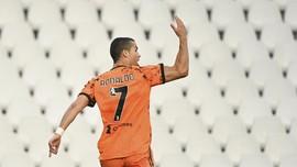 FOTO: Ronaldo Datang, Juventus Menang