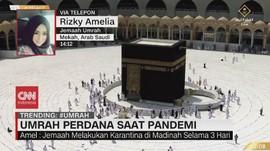 VIDEO: Umrah Perdana Saat Pandemi