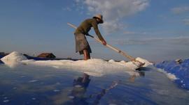 Hasil Uji Coba Produksi Garam Tanpa Lahan Terbit Akhir Tahun