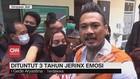 VIDEO: Dituntut 3 Tahun Penjara, Jerinx Emosi